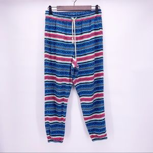 Without Walls Multicolored Jogger Pants Size M